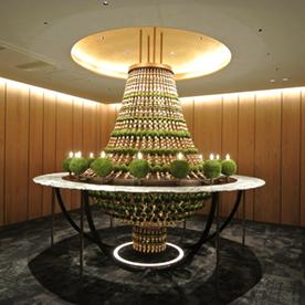 店舗内装施工事例_ANAクラウンプラザホテル京都2階サロン
